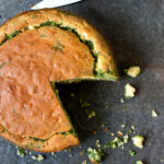 Cornbread with Feta and Spinach