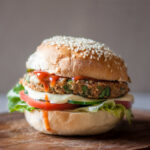 Low FODMAP Veggie Burger (Vegan)