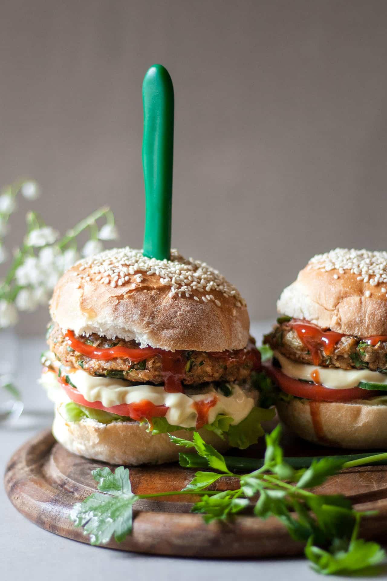Food Porn Veggie Burgers