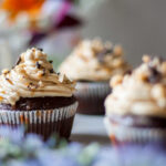Gluten-Free Snickers Cupcakes