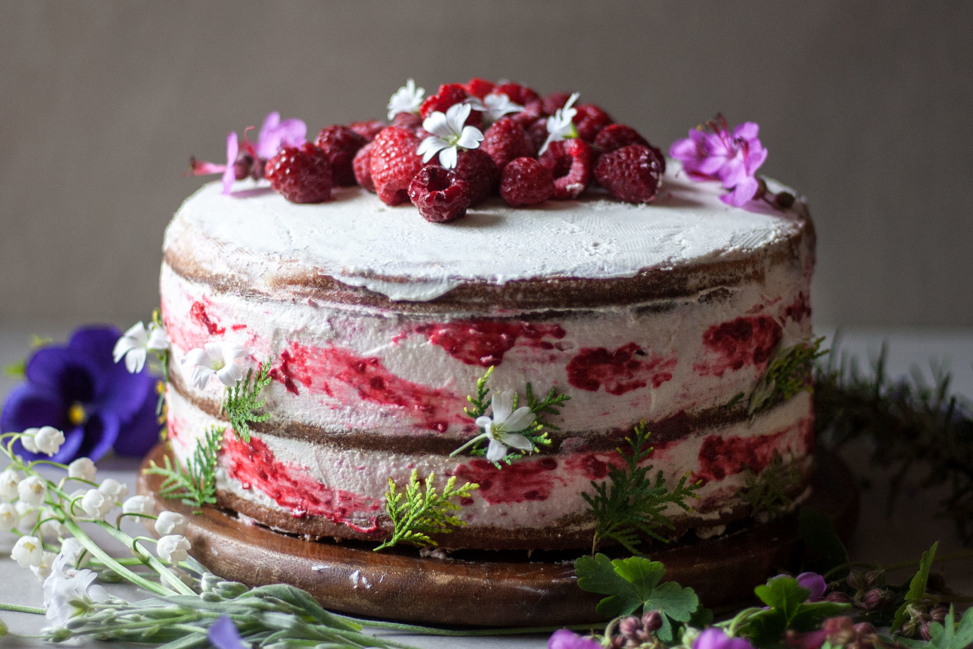 112 best images about naked wedding cakes on Pinterest