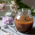 Silky and Flavorful Lactose-Free and Low FODMAP Caramel Sauce.