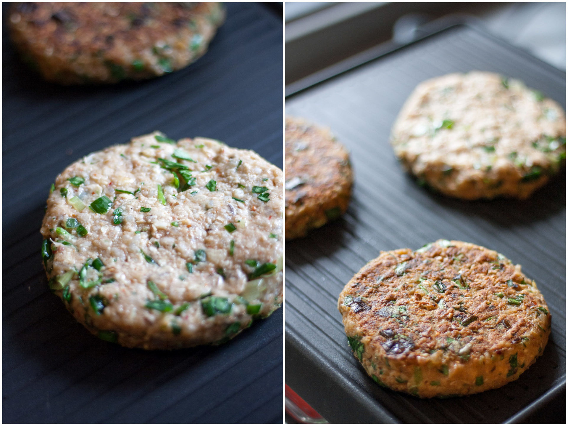 Grilling Veggie Burgers