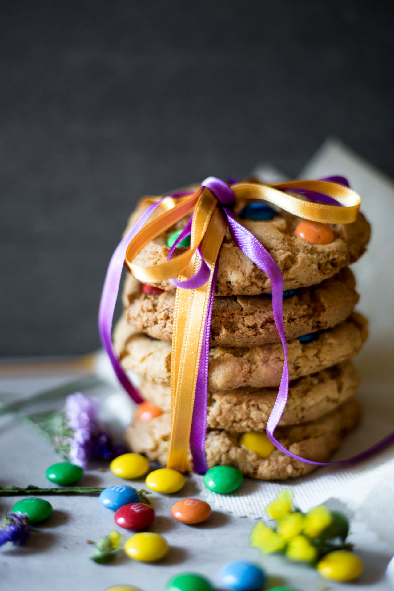 These Gluten-Free M&M Cookies perfectly sweetened, super chewy, tender on the inside and slightly crispy on the outside.Plus easy to make and so delicious!
