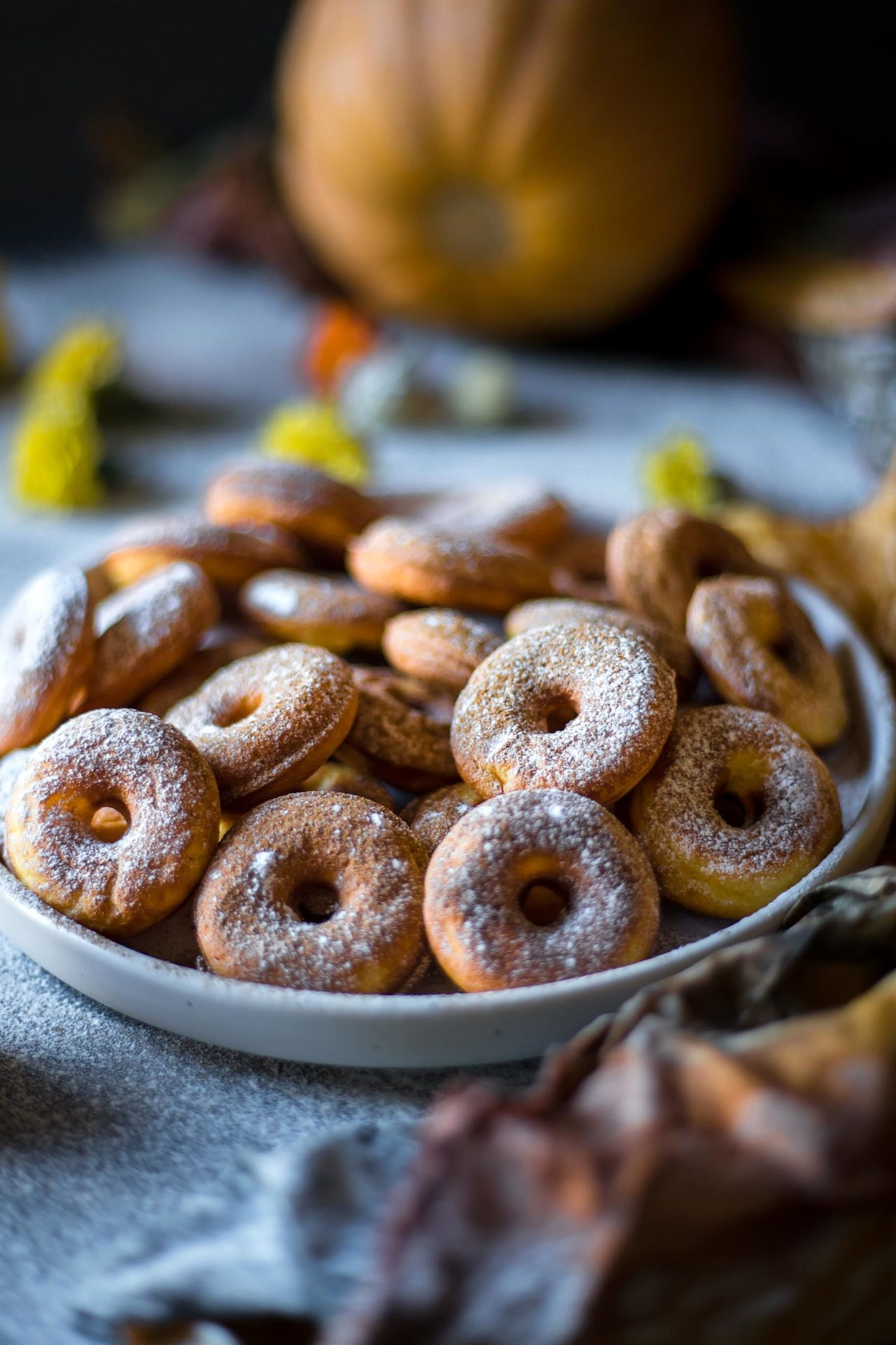 These Low FODMAP pumpkin donuts are super flavorful, rich, perfectly sweetened and very delicious. The autumn flavor is in every bite.