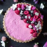 No-Bake Mixed Berry Tart