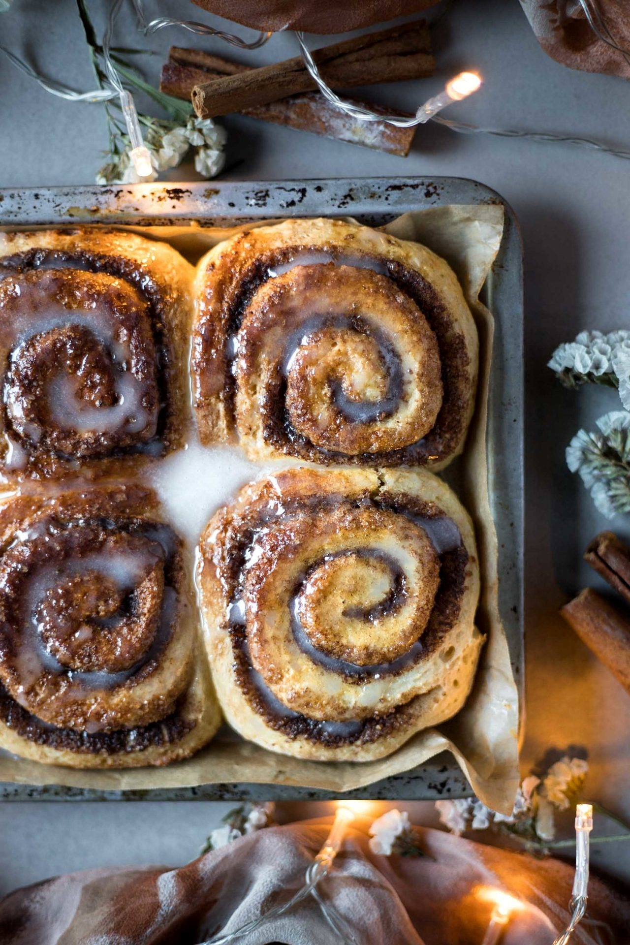 These Gluten-Free Cinnamon Rolls are tender on the inside and flaky on the outside. Cinnamon-spiked, perfectly sweet and so delicious!