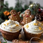 Gluten-free Gingerbread Cupcakes (Low FODMAP)