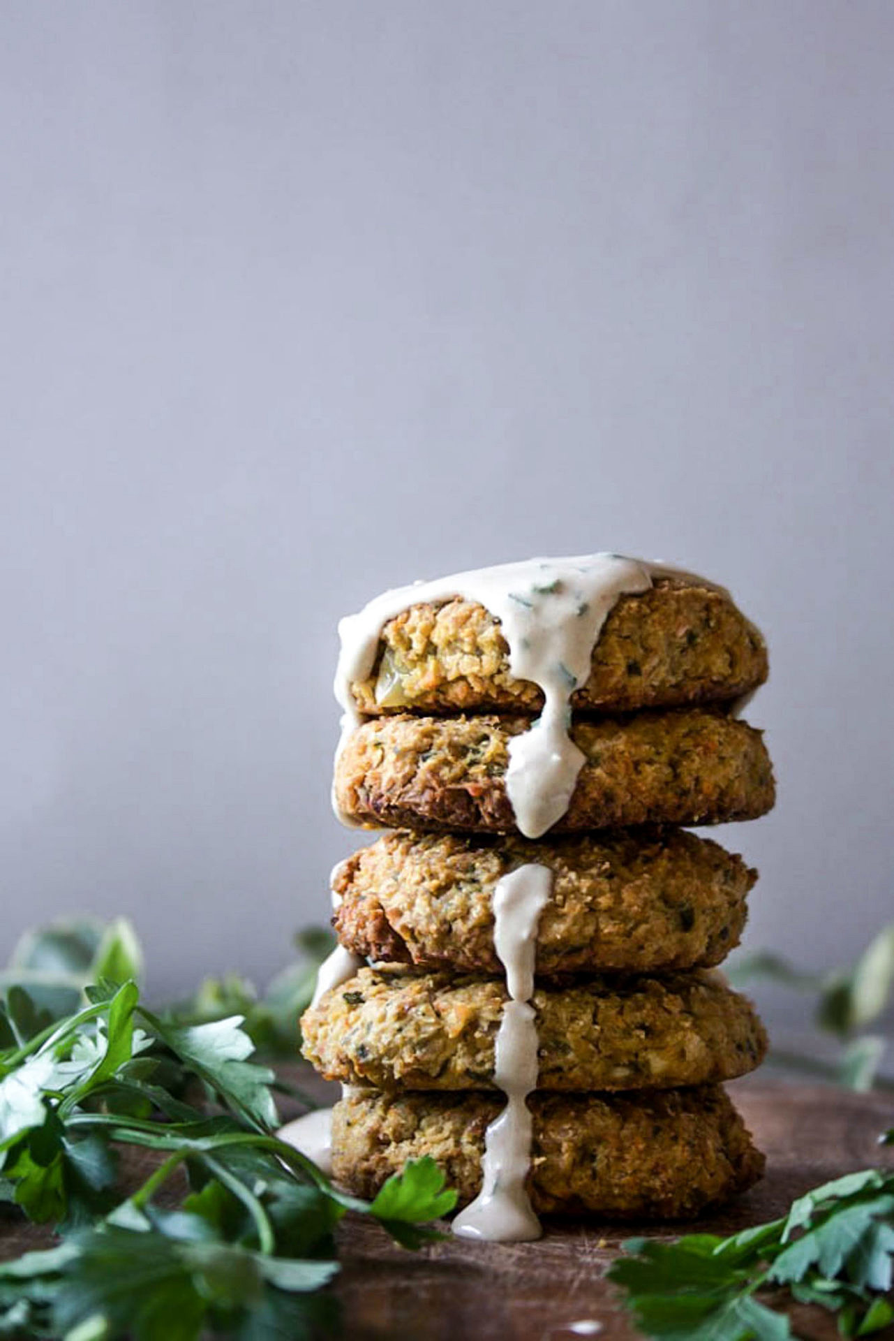 This Low FODMAP Falafel is crispy on the outside and soft on the inside, flavorful, satisfying and easy to digest! Plus completely vegan and gluten-free.