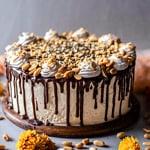 Gluten-Free Chocolate Peanut Butter Cake