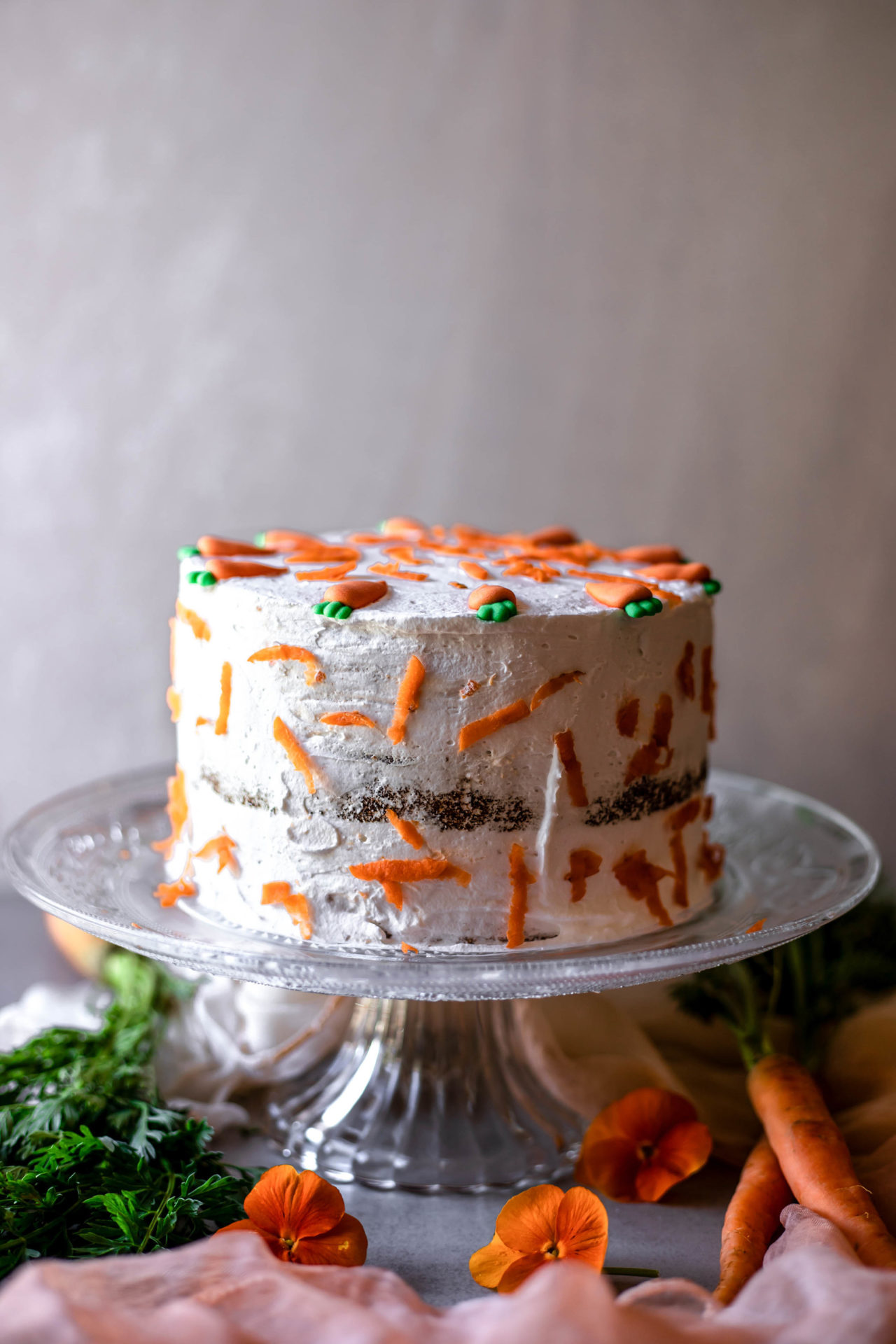 This Low FODMAP Carrot Cake is perfectly sweetened, flavorful, super tender and fluffy, moist, carrot packed and so delicious!