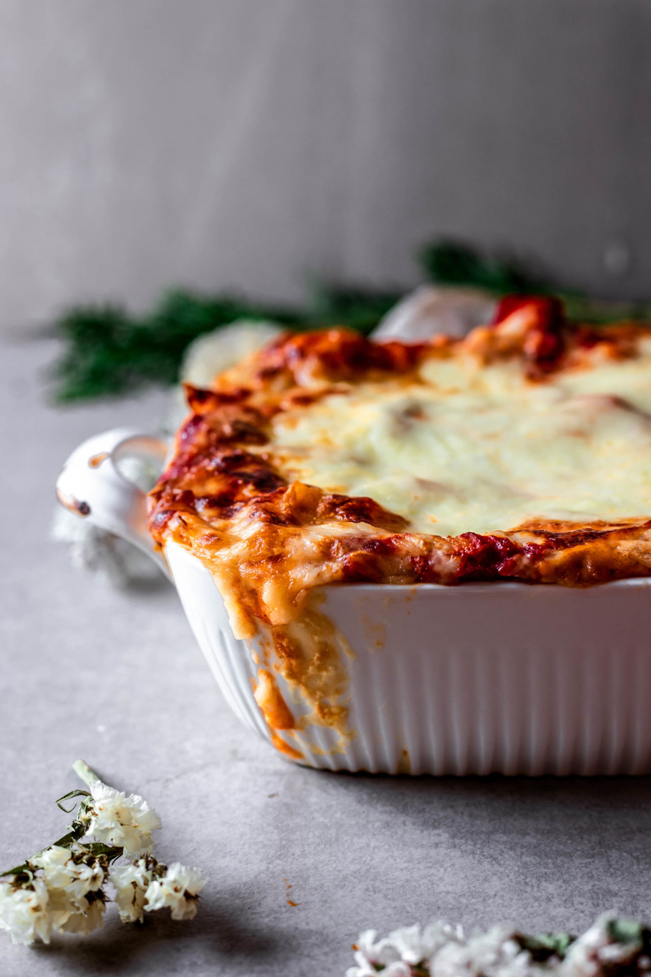 This Low FODMAP Vegetarian Lasagna is super flavorful, veggie-packed, filling, hearty and so delicious!