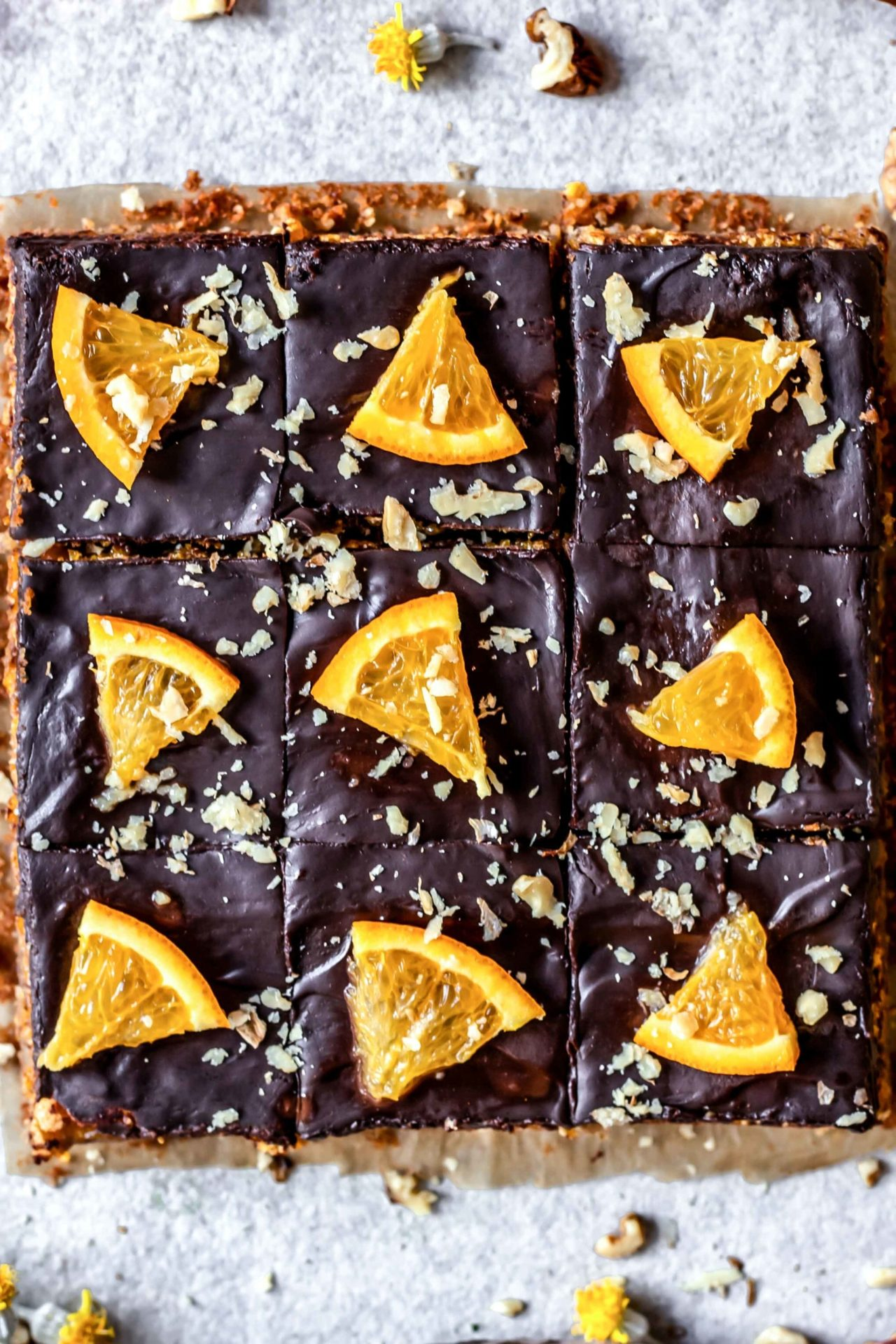 These Chocolate Orange Jaffa Bars are perfectly sweetened, rich, orange infused, chocolaty, portable, super simple to make and so delicious!