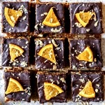 Chocolate Orange Jaffa Bars
