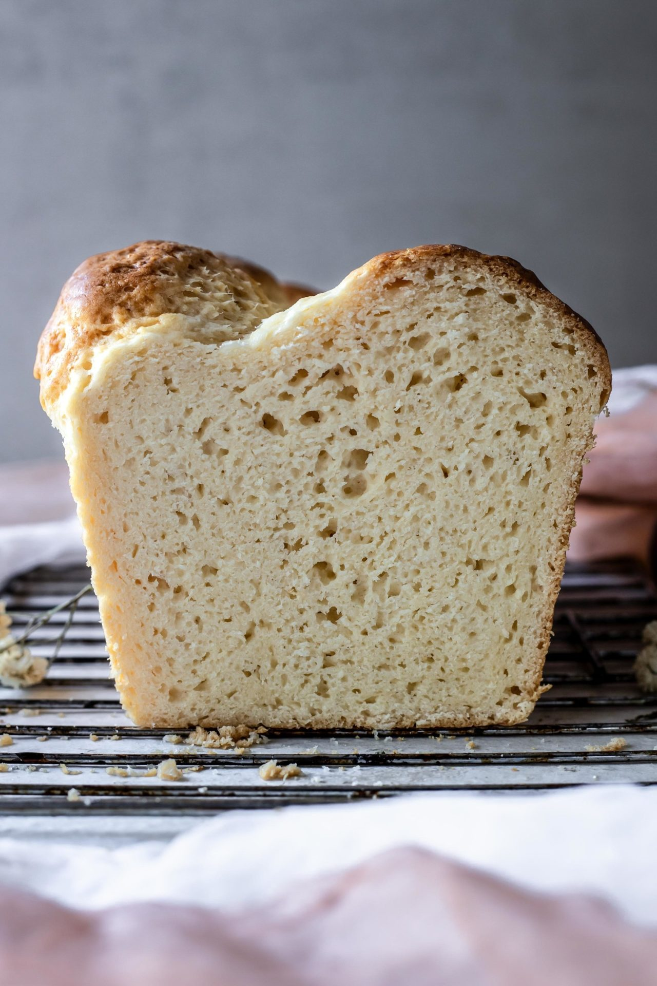 This Gluten Free Brioche Bread is pillowy soft, buttery, tender, rich, simple to make, tummy-friendly and so delicious!