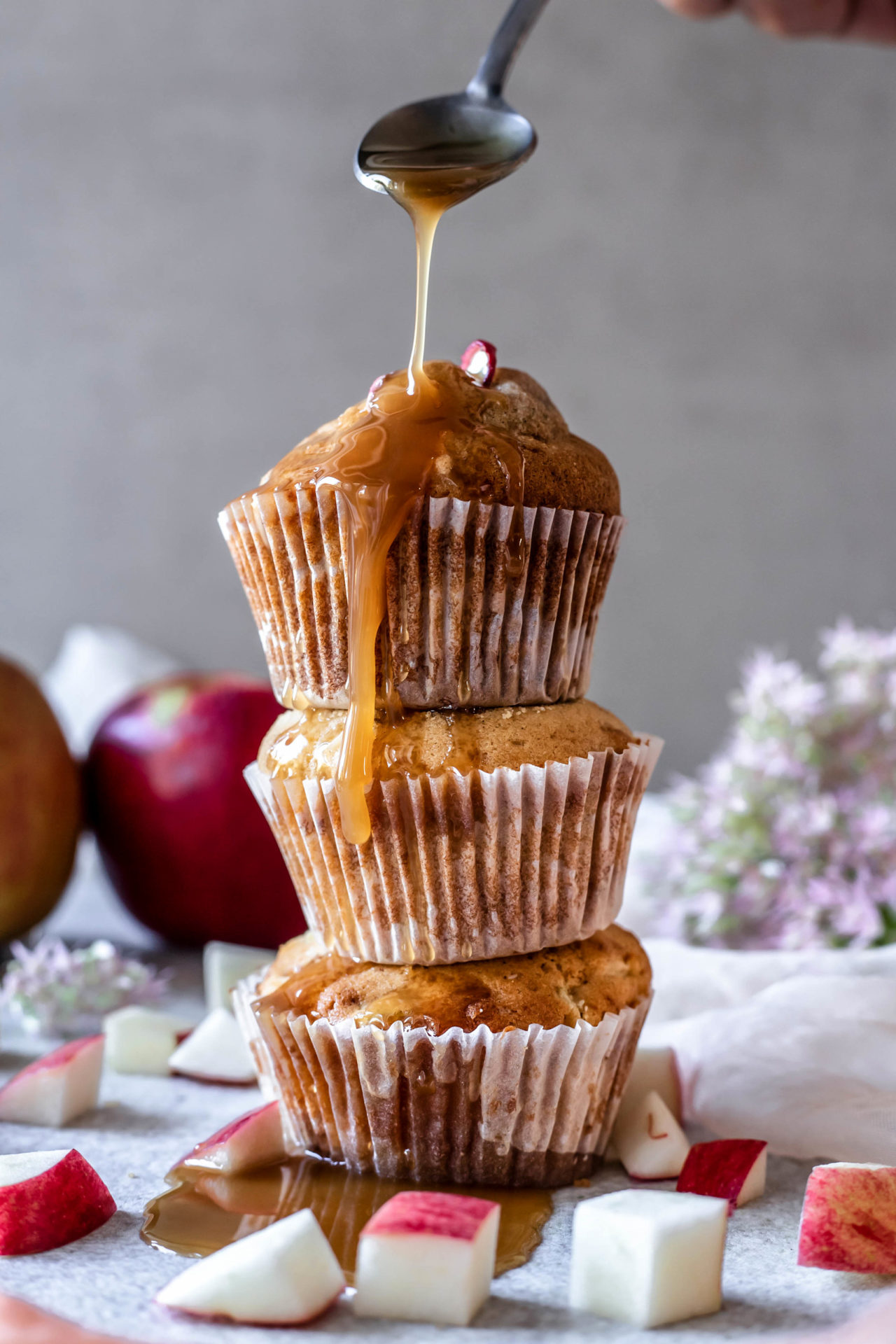 These Gluten-Free Apple Pie Muffins are tender and light, loaded with apple, perfectly sweet, hearty, satisfying and so simple to make!