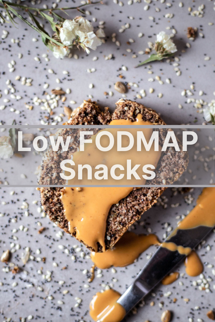 A list of simple Low FODMAP Snacks that you can buy in any local supermarket. They don't require cooking and are perfect for on-the-go.