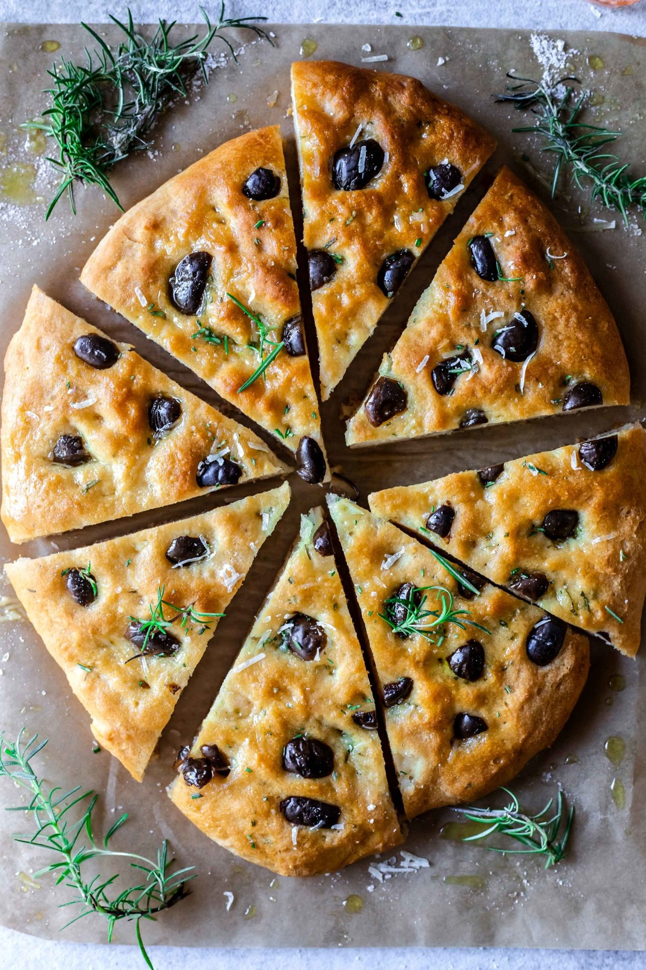 This Gluten-Free Focaccia Bread is pillowy soft, tender, bursting with flavour, satisfying, very simple to make and so delicious.