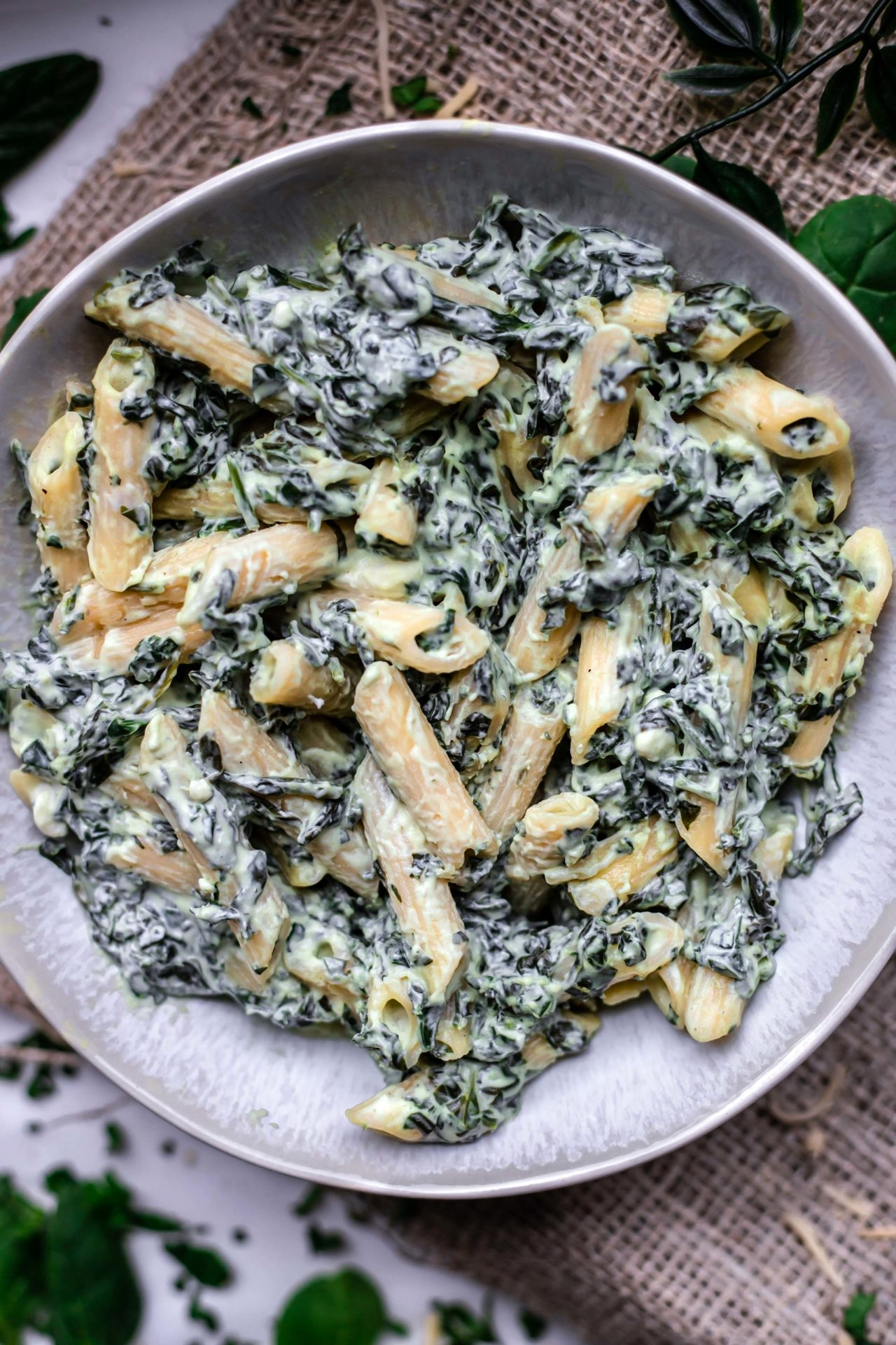This Creamy Spinach Pasta is rich, satisfying, savory, comforting, very simple to make, tummy-friendly, and just so delicious!