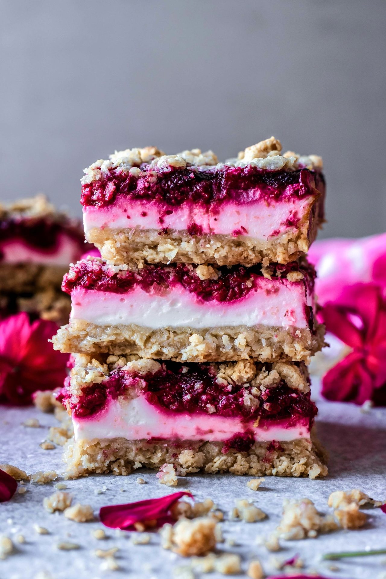 These Gluten-Free Raspberry Yogurt Bars are simple to make, fruity, perfectly sweetened, refreshing, and just so good!