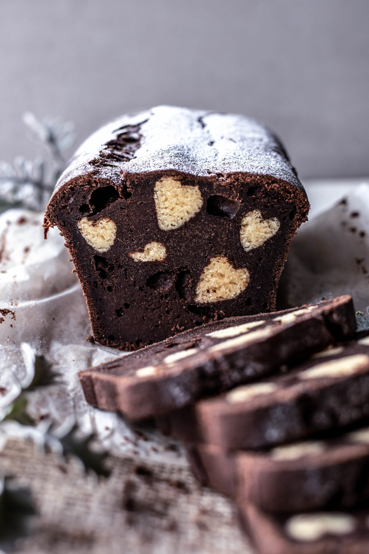 This Hidden Heart Cake is chocolate & vanilla flavoured, light, tender, buttery, perfectly sweetened and so delicious!