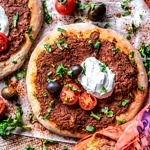Vegan Turkish Pizza