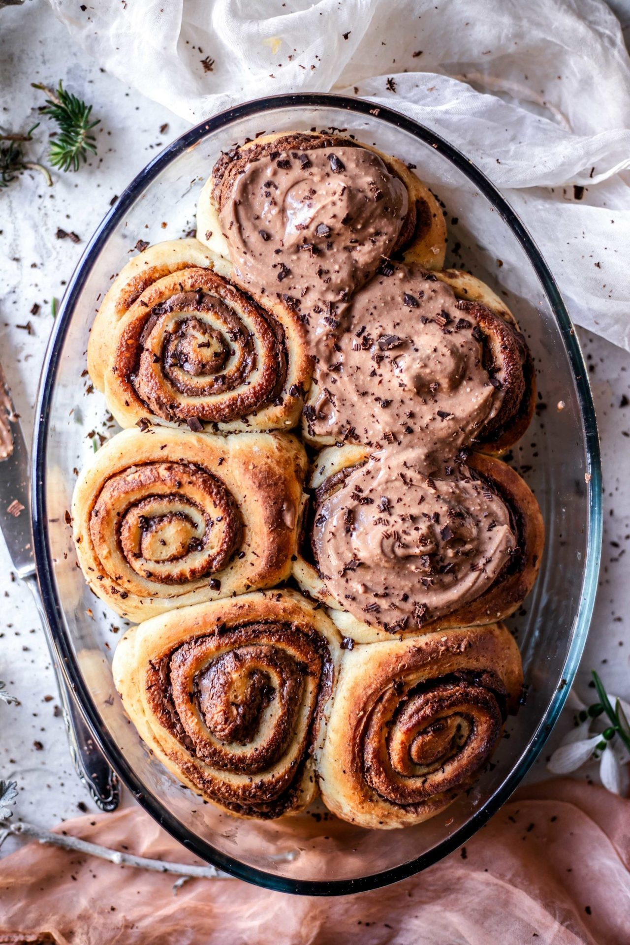 These Gluten-Free Chocolate Rolls are soft, flaky, extra chocolaty, perfectly sweetened, buttery, and super fluffy!