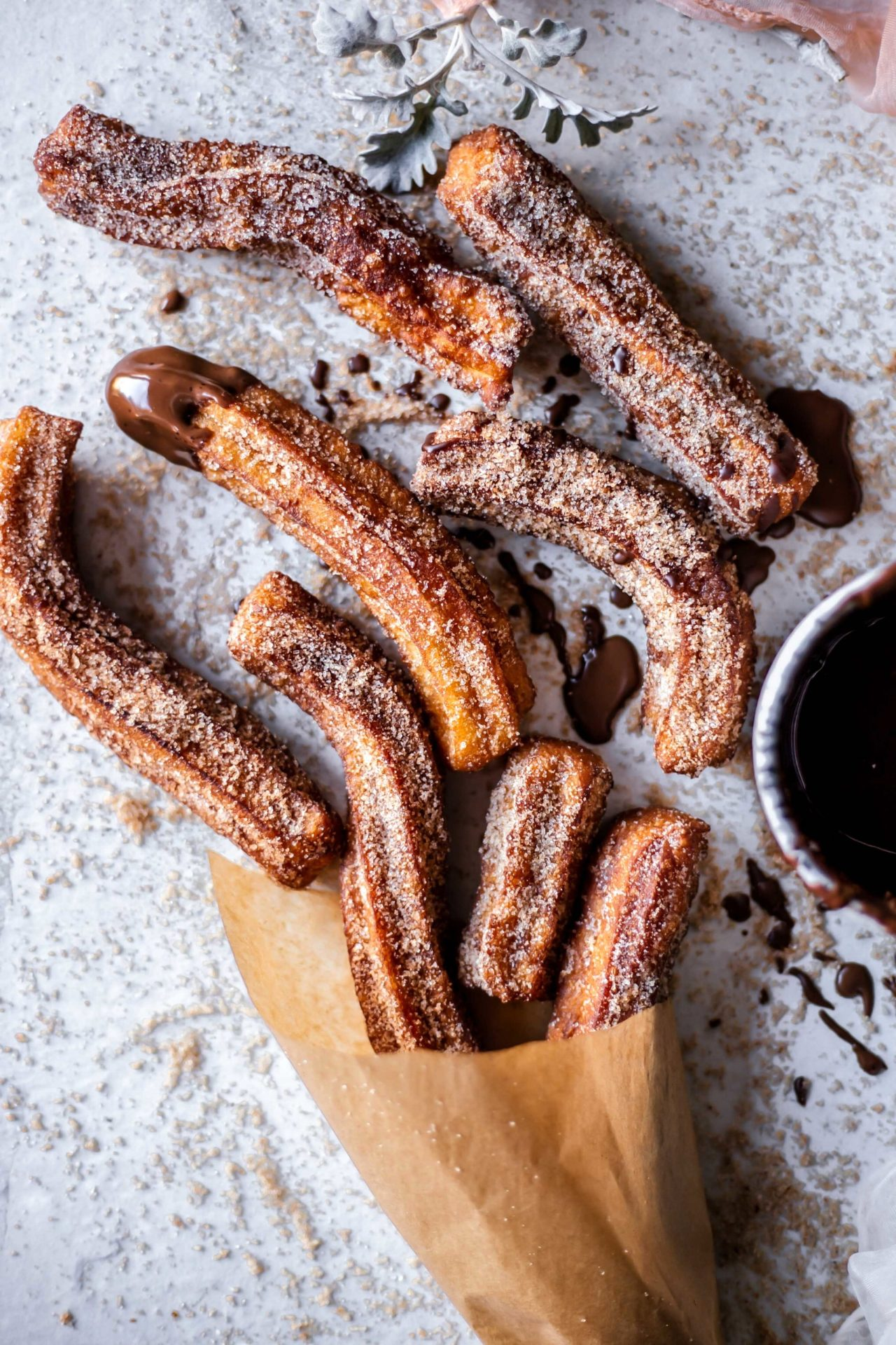 These gluten-free churros are light, airy, tender on the inside and crispy on the outside, perfectly sweetened, and just so delicious!