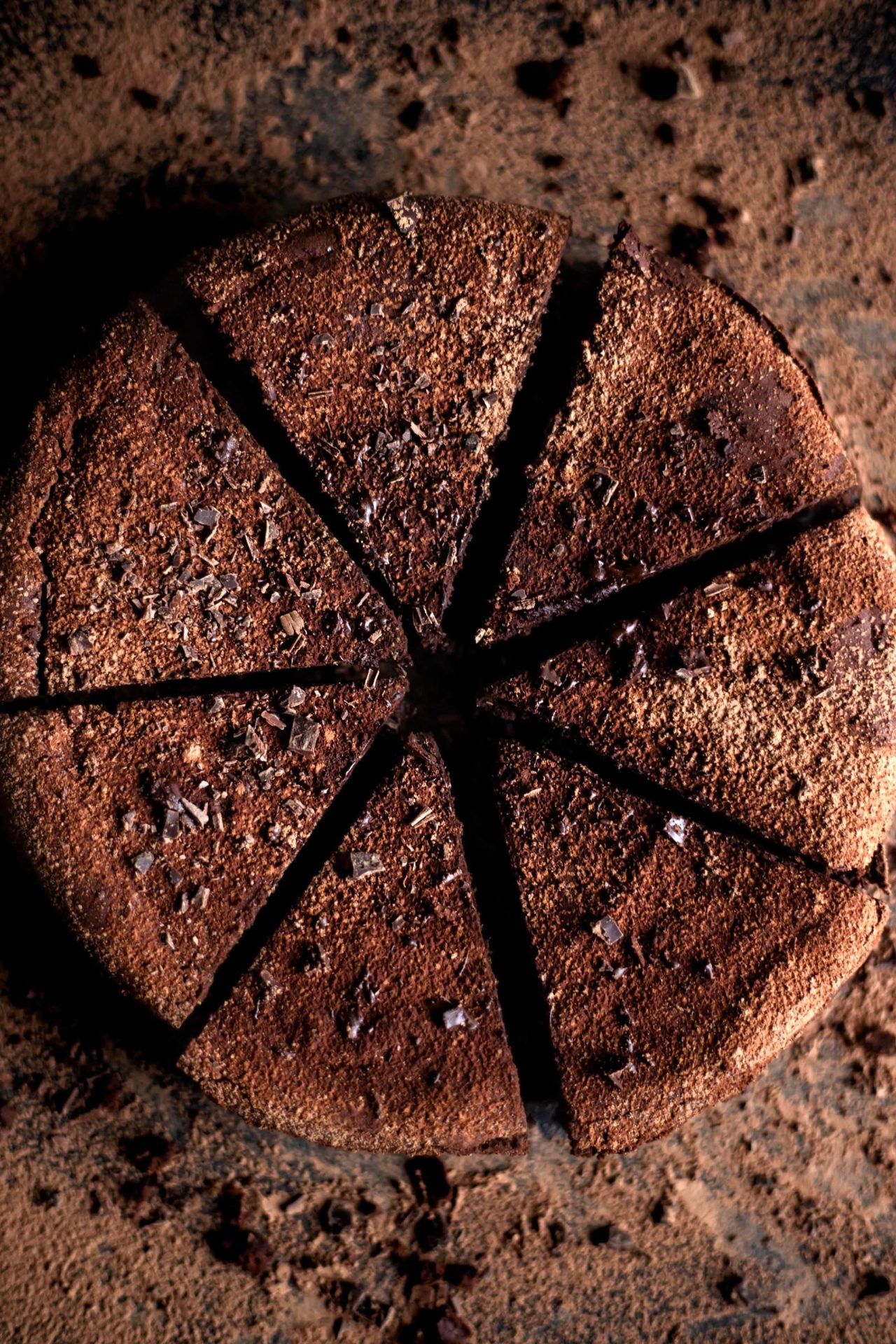 This Flourless Chocolate Cake is super chocolaty, incredibly rich, luxurious, decadent, moist, fudgy and the best part naturally gluten-free!