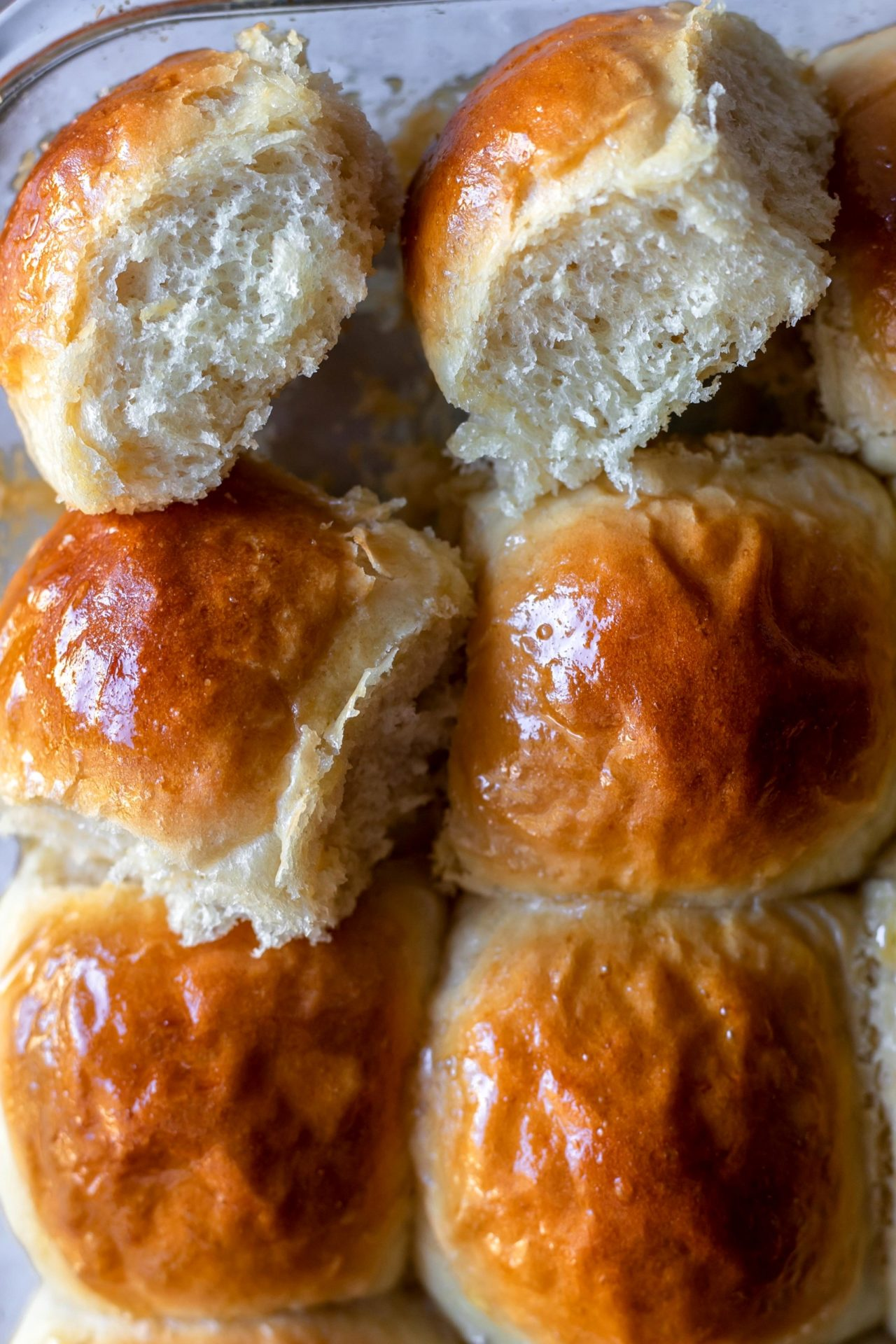 These Gluten-Free Dinner Rolls are tender, buttery, fluffy, flaky on the top and extra soft in the center!