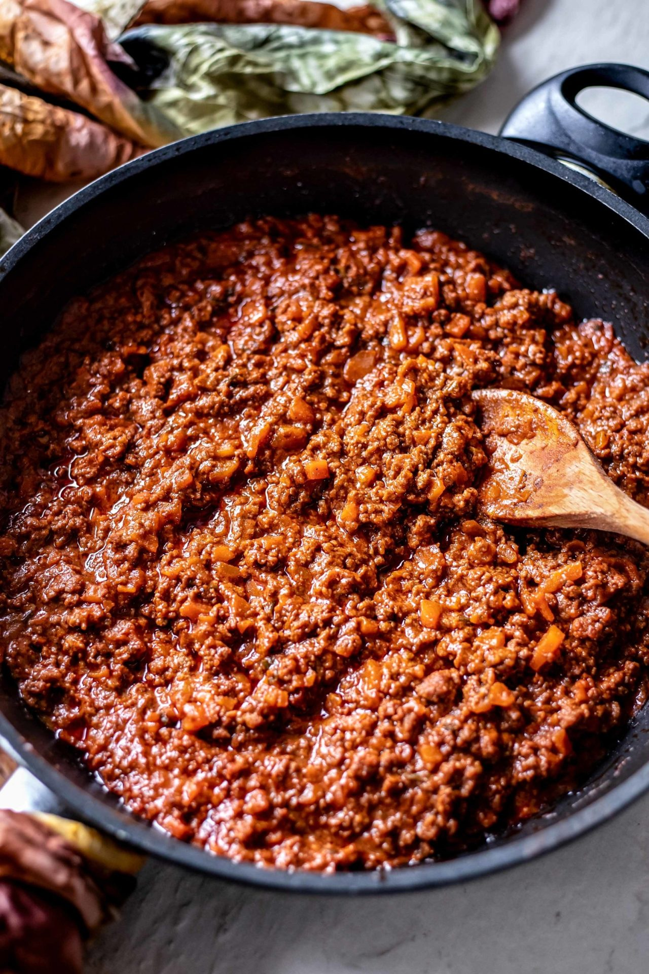 This Low FODMAP Spaghetti Bolognese is rich, saucy, thick, super flavourful, simple to make, and very delicious!